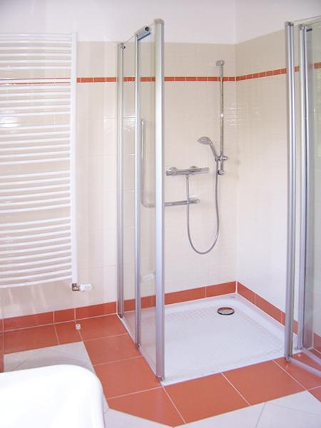 Umbaumöglichkeit zu Duschbad