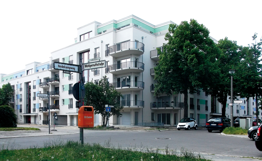 HeidekampEck, Heidekampweg 45–47c
