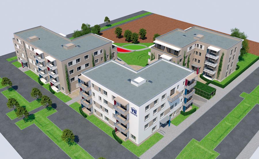 WBG Treptow Nord Neubau Adlershof