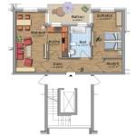 HeidekampEck 2-Zimmer-Wohnung ca. 68qm