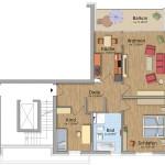HeidekampEck 3-Zimmer-Wohnung ca. 89qm