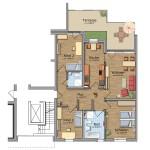 HeidekampEck 4-Zimmer-Wohnung ca. 115qm
