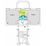Q3A 2-Zimmer-Wohnung mit ca. 39qm