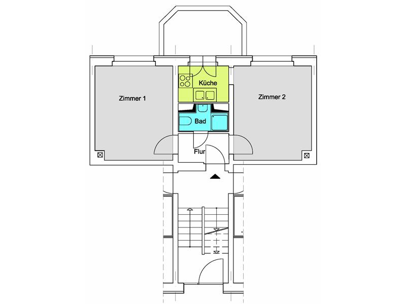 unsere wohnungen. Black Bedroom Furniture Sets. Home Design Ideas