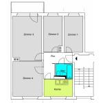 Q3A 4-Zimmer-Wohnung mit ca. 67qm