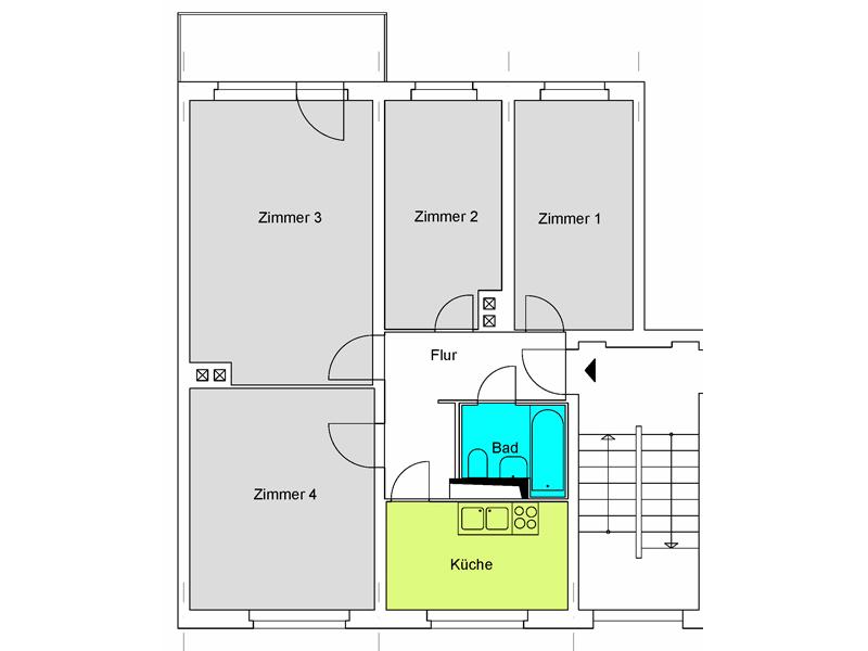 Unsere wohnungen for Kinderzimmer q3a