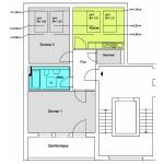 Schraderstraße 2-Zimmer-Wohnung ca. 62qm