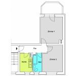 TB 2-Zimmer-Wohnung ca. 51qm