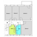 TB 4-Zimmer-Wohnung ca. 68qm