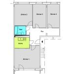 WBS70 4-Zimmer-Wohnung ca. 75qm
