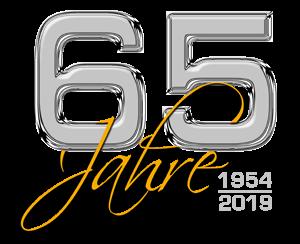 """65-Jahre Logo zum Jubiläumsfest der WBG """"Treptow Nord"""" eG"""