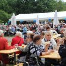 """Viele Besucher auf dem 65-Jahre Jubiläumsfest der WBG """"Treptow Nord"""" eG"""