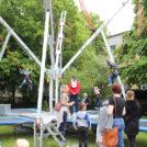 """Bunjee Jumping für Kinder auf dem 65-Jahre Jubiläumsfest der WBG """"Treptow Nord"""" eG"""