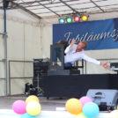"""""""Santos"""" sensationelle Artistenshow auf dem 65-Jahre Jubiläumsfest der WBG """"Treptow Nord"""" eG"""