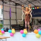 """""""The Jungle Show mit Lady Ohara & Mister Kain"""" auf dem 65-Jahre Jubiläumsfest der WBG """"Treptow Nord"""" eG"""