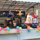 """""""Blue Haley & Blue Cats"""" auf dem 65-Jahre Jubiläumsfest der WBG """"Treptow Nord"""" eG"""